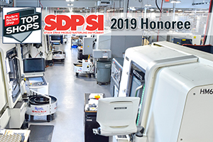 SDPSI Named 2019 Honoree of Top Shop by Modern Machine Shop