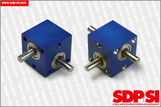 Miniature Right Angle Helical Drives