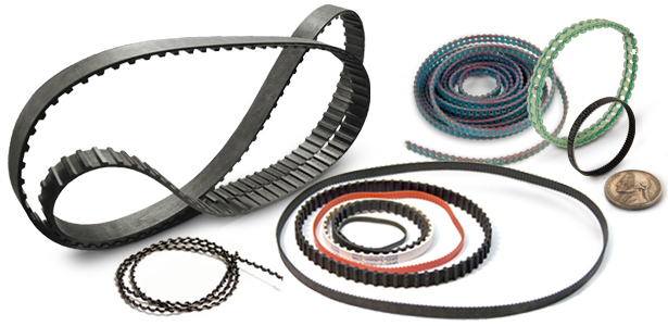 Miniature Synchronous Timing Belts And Cables For Power